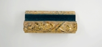 1013 Antiek goud - blauw